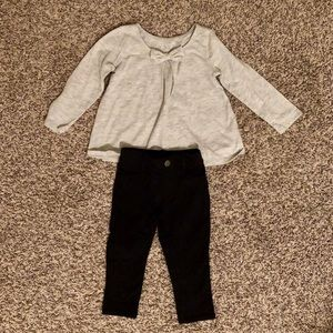 The Children's Place Baby Girl Top and Pants